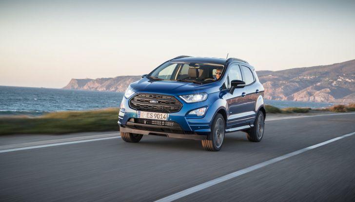 Ford Ecosport: i tappetini nascono dalle bottiglie di plastica riciclata - Foto 32 di 32