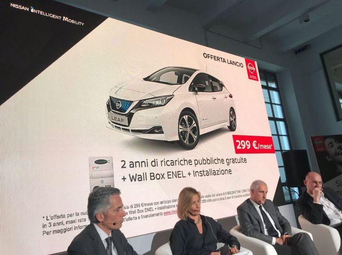 Nuova Nissan LEAF 2018 offerta a 299 euro al mese - Foto 3 di 26