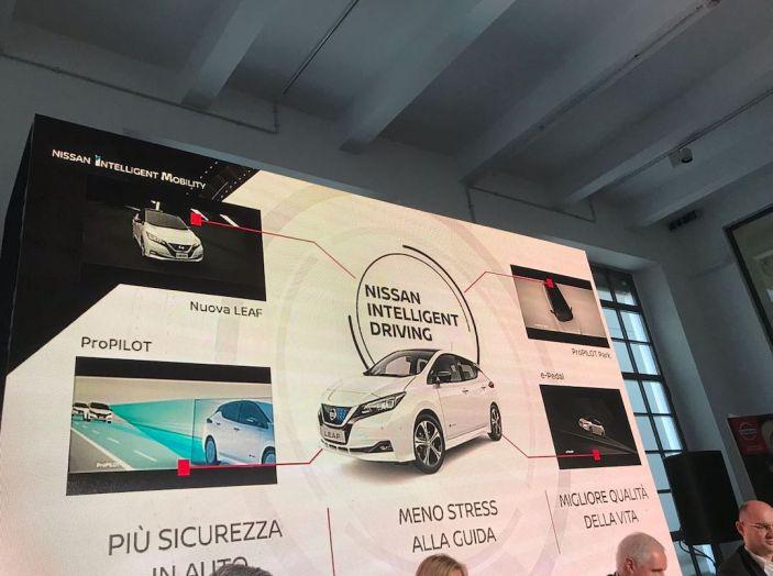 Nuova Nissan LEAF 2018 offerta a 299 euro al mese - Foto 19 di 26