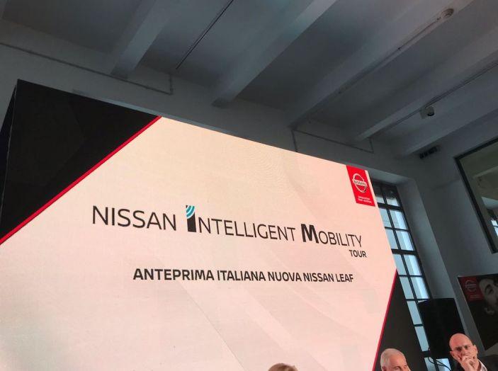 Nuova Nissan LEAF 2018 offerta a 299 euro al mese - Foto 15 di 26