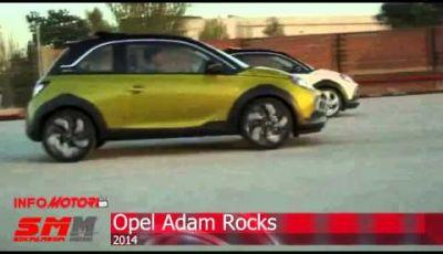 Opel Adam Rocks la variante mini-crossover della citycar tedesca