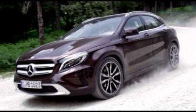 Mercedes GLA, il crossover secondo Mercedes