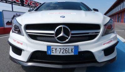 Mercedes CLA SB 45 AMG: Il Test di Infomotori
