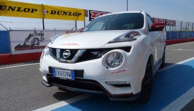 Nissan Juke Nismo RS al Rallycross di Franciacorta