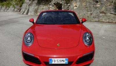 Porsche 911 Carrera Cabrio S: La prova su strada