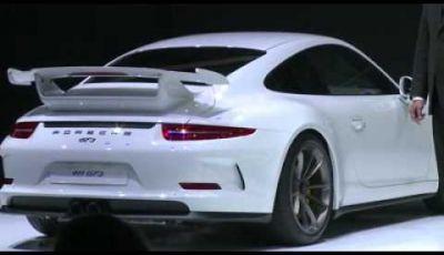 Porsche 911 GT3 – Salone di Ginevra 2013