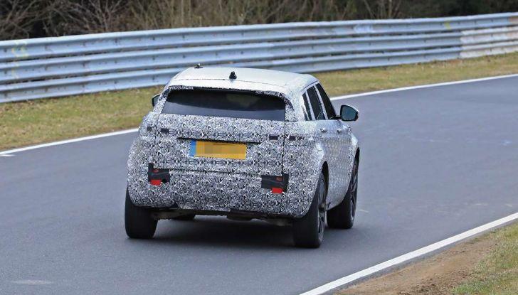 Range Rover Evoque 2019: una seconda serie per replicare il successo - Foto 20 di 41