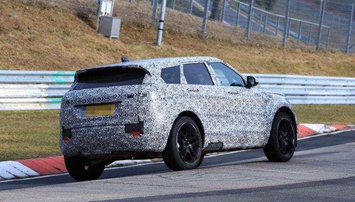 Range Rover Evoque 2019: una seconda serie per replicare il successo - Foto 32 di 41
