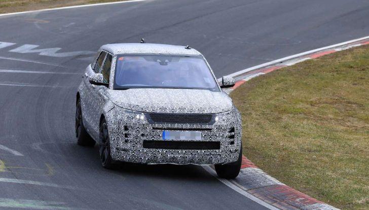 Range Rover Evoque 2019: una seconda serie per replicare il successo - Foto 35 di 41