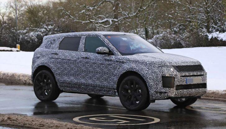Range Rover Evoque 2019: una seconda serie per replicare il successo - Foto 25 di 41