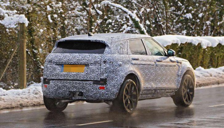 Range Rover Evoque 2019: una seconda serie per replicare il successo - Foto 5 di 41