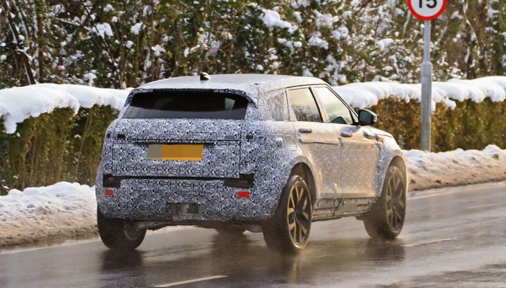 Range Rover Evoque 2019: una seconda serie per replicare il successo - Foto 21 di 41