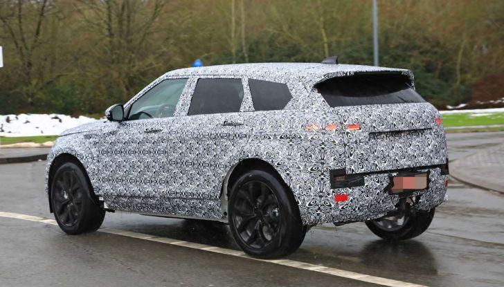 Range Rover Evoque 2019: una seconda serie per replicare il successo - Foto 7 di 41