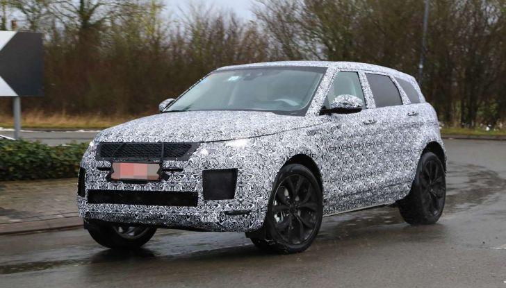 Range Rover Evoque 2019: una seconda serie per replicare il successo - Foto 17 di 41