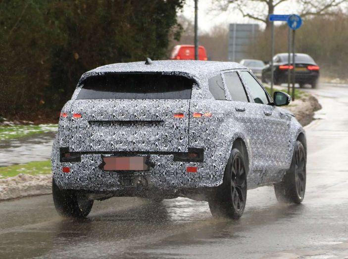 Range Rover Evoque 2019: una seconda serie per replicare il successo - Foto 13 di 24