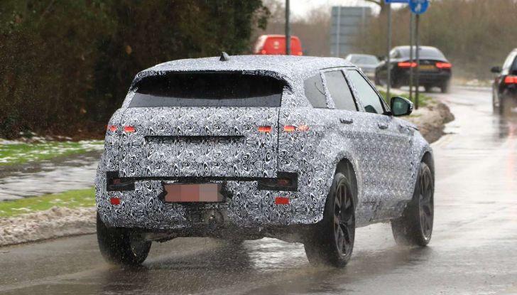 Range Rover Evoque 2019: una seconda serie per replicare il successo - Foto 19 di 41