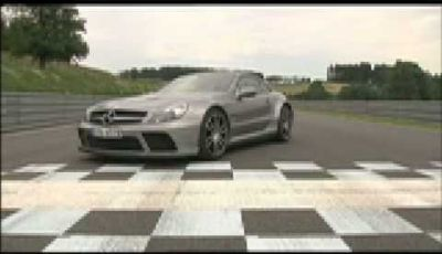 Video Mercedes SL65 AMG Black Series