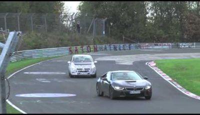 Opel Corsa OPC Facelift video spia sul circuito del Nürburgring