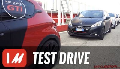 Peugeot 208GTi by PS: test in pista a Misano