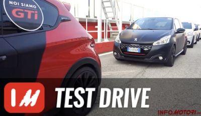Peugeot 208GTi by PS: test in pista a Misano