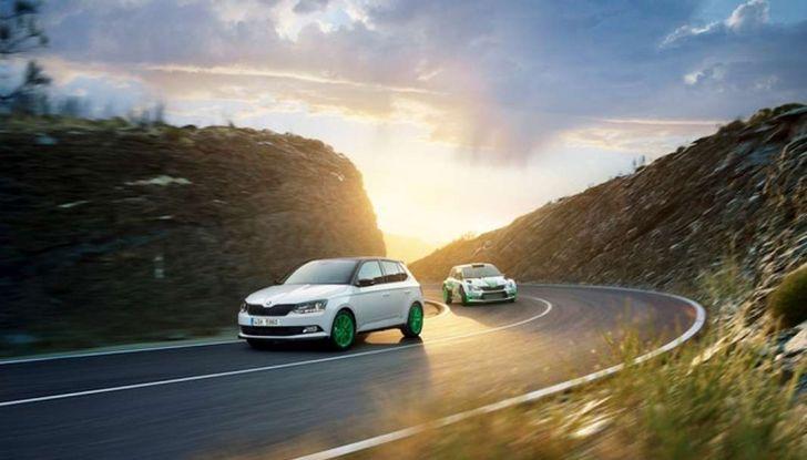 Skoda Fabia Limited Edition, omaggio al Rally - Foto 5 di 8