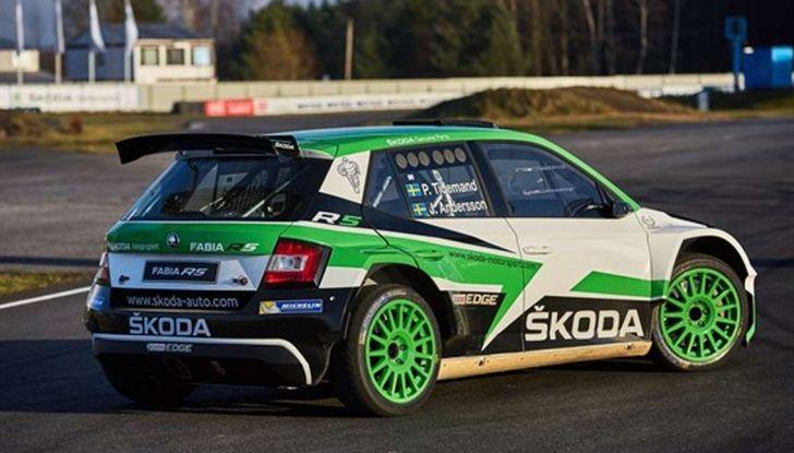 Skoda Fabia Limited Edition, omaggio al Rally - Foto 3 di 8