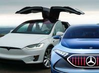 Mercedes avrebbe noleggiato una Tesla Model X restituendola con 15.000€ di danni
