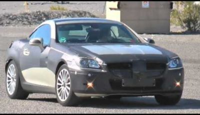 Mercedes Benz SLK video spia