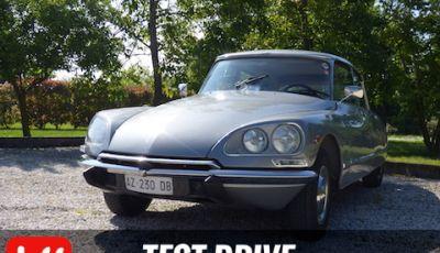 Prova su strada Citroën DS 23 Pallas