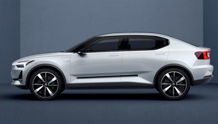 La nuova Volvo V40 2019 arriverà anche 100% elettrica - Foto 5 di 10