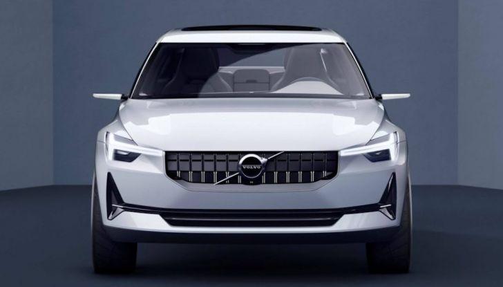 La nuova Volvo V40 2019 arriverà anche 100% elettrica - Foto 1 di 10
