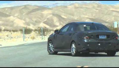 Mercedes BLS spy video dei collaudi nella Valle della Morte