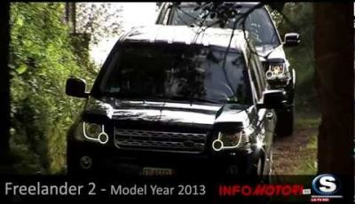 Freelander 2 Model Year 2013 test drive