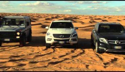 Mercedes-Benz test drive nel deserto della Tunisia