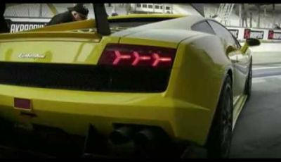 Video Lamborghini Gallardo GTR Monza