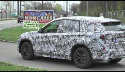 BMW X1 video spia della nuova generazione