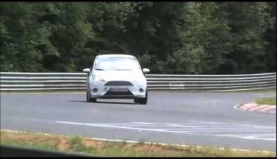 Ford Fiesta ST video spia