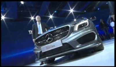 Mercedes-Benz CLA al salone di Detroit 2013