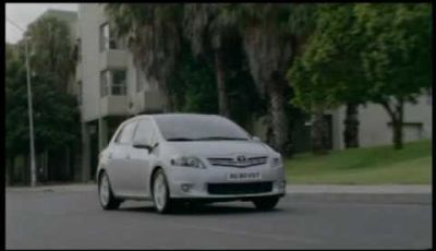 Video Toyota Auris 2010
