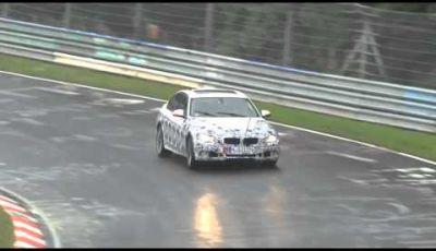 BMW Serie 3 2012 spy video