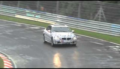 BMW Serie 3 2012 spy video