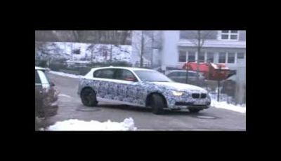 BMW Serie 1 spy video