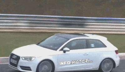 Audi S3: collaudi al Nurburgring