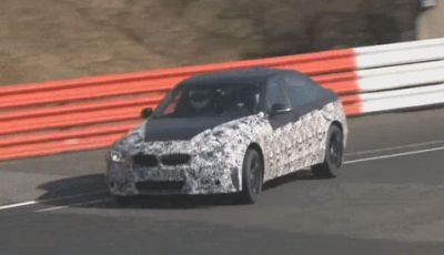 BMW M3 test al Nurburgring
