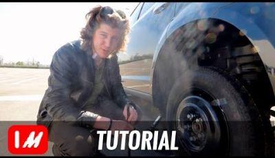 Cambiare una ruota a terra: Come fare, consigli e normative