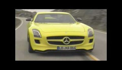 Mercedes SLS E Cell – Video ufficiale