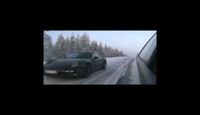 Porsche 911 video spia