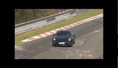 Porsche 911 – Video spia al Nürburgring