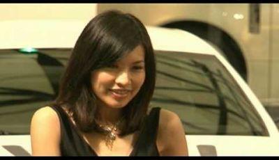 Video Girls Salone Auto Shanghai 2009