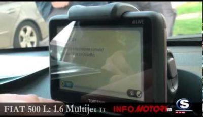 Fiat 500 L 1.6 Multijet II, test drive a Cannes